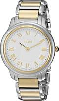 Fendi Men's F251114000 Classico Analog Display Quartz Silver Watch