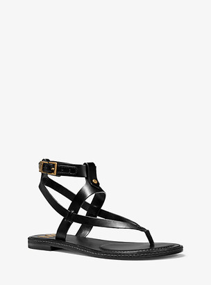 Michael Kors Pearson Leather Sandal