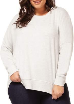 Dex Plus Crewneck Long-Sleeve Sweater