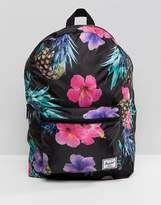 Herschel Packable Backpack in Tropical Pineapple Print