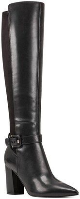 Nine West Collins Leather Tall Boot