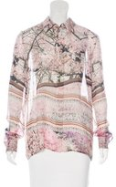 Mary Katrantzou Gala Silk Blouse w/ Tags