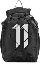 11 By Boris Bidjan Saberi logo backpack - men - Nylon - One Size