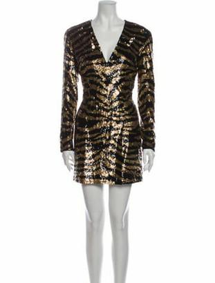 Balmain Animal Print Mini Dress w/ Tags