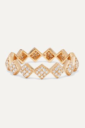 Ofira Tattoo 18-karat Gold Diamond Ring - 6