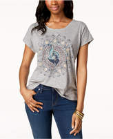 Style&Co. Style & Co Embellished-Graphic T-Shirt, Created for Macy's