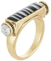 Laundry by Shelli Segal Abbot Kinney Striped Inlay Ring