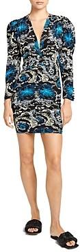 A.L.C. Roxy Printed Mini Dress