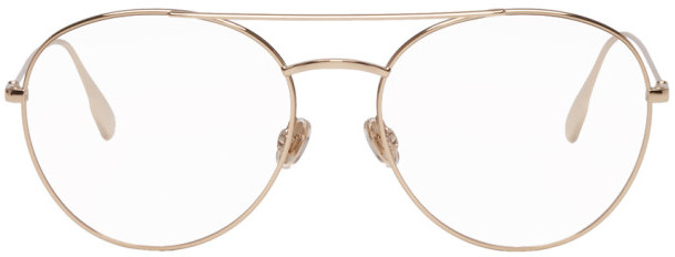 Christian Dior Gold and Black DiorStellaire05 Glasses