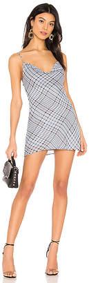 superdown Carmella Chiffon Mini Dress