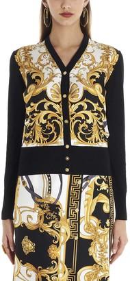 Versace Baroque Print Cardigan