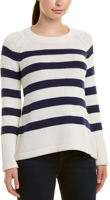 Hannah Rose Cashmere-Blend Sweater