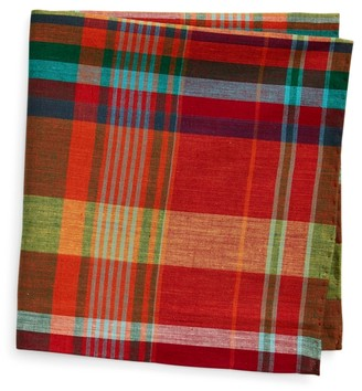 Ralph Lauren Madras Pocket Square
