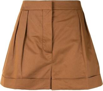 Marni High-Waisted Pleated Shorts
