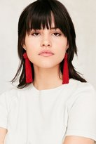 Vanessa Mooney Astrid Knotted Tassel Earring
