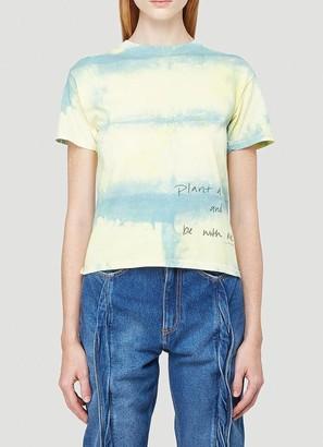Collina Strada Plant A Tree Script Printed T-Shirt
