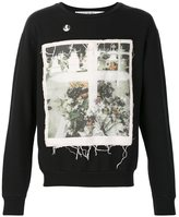 Enfants Riches Deprimes 'Enfants Riches Deprimes x Cy Twombly' loose threads printed sweatshirt