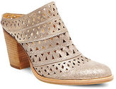 Steve Madden Harmony Laser Cut Leather Mules