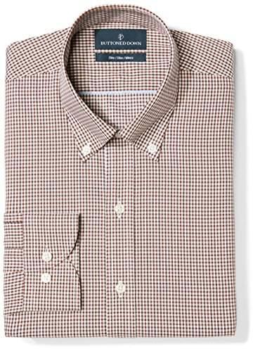 cf4be744 Men Button Down Collar Dress Shirt - ShopStyle
