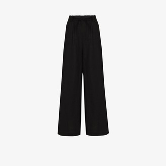 Missing You Already Wide Leg Linen Trousers