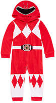 Power Rangers Boys Sleepwear Long Sleeve Footed Pajamas-Toddler Boys