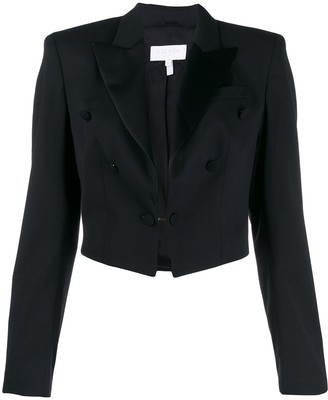 Escada Sport Cropped Button Detail Blazer