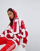 adidas Bold Age Graphic Print Hoodie