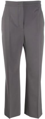 Alberta Ferretti Cropped Trousers