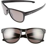 Oakley Women's Sliver(TM) Prizm(TM) 57Mm Polarized Sunglasses - Black/ Prizm Polar