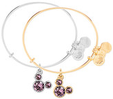 Disney Mickey Mouse Birthstone Bangle by Alex and Ani - June