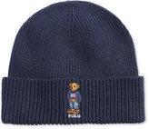 Polo Ralph Lauren Men's Preppy Bear Cuffed Hat