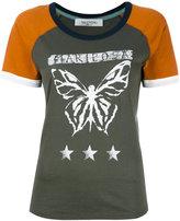 Valentino mariposa print T-shirt - women - Cotton - L