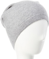 Phenix Men's Light Grey Cashmere Slouchy Hat