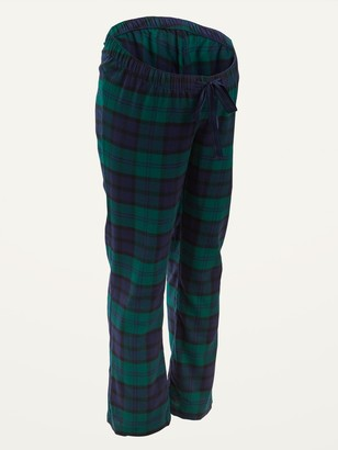 Old Navy Maternity Plaid Flannel Pajama Pants