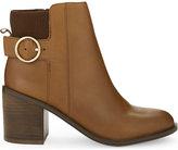 Aldo Rosaldee leather heeled ankle boots