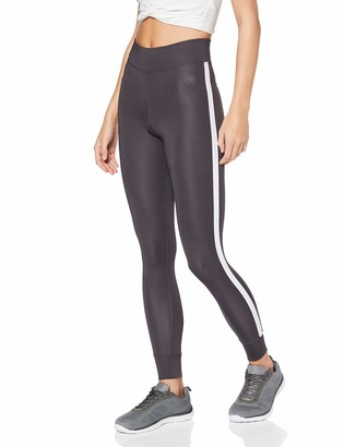 Aurique Amazon Brand Women's Side Stripe Sports Leggings