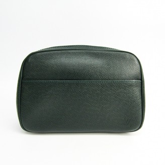 Louis Vuitton Green Leather Travel bags
