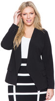 ELOQUII Plus Size Open Suit Jacket