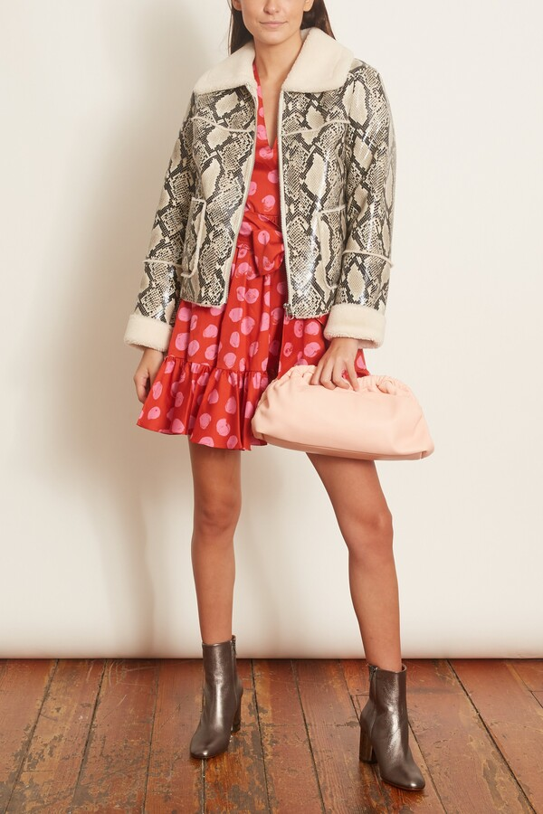 Thumbnail for your product : Stand Maj Jacket in Natural Snake