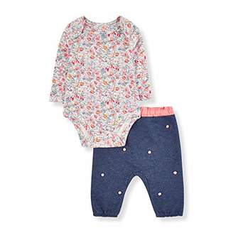 Mothercare Baby NB PF POM TOP and Jog Set Tracksuit,(Size:68)