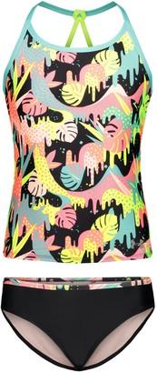 Under Armour Girls' Pre-Schol UA Paradiso Tankini Swimsuit
