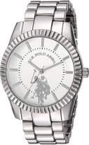 U.S. Polo Assn. Women's Quartz Metal and Alloy Casual Watch, Color:-Toned (Model: USC40264AZ)