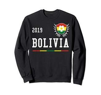 Bolivia Football Jersey 2019 Bolivian Soccer Jersey Sweatshirt