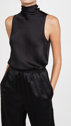 Vince Draped Turtleneck Bodysuit