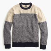 J.Crew Lambswool sweater in varsity colorblock