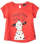 Joules Kids Maggie (Toddler/Little Kids) (Red Dotty Dog) Girl's Clothing