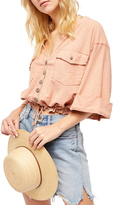Free People Eliza Button-Up Top