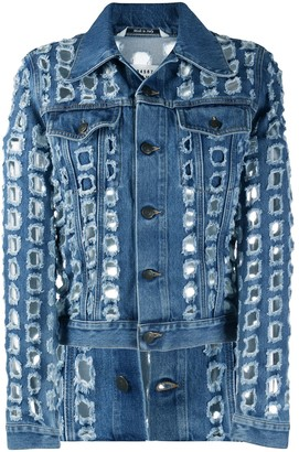 Maison Margiela Punched Hole Denim Jacket