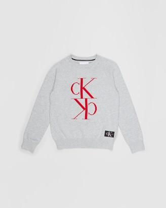 Calvin Klein Jeans Mirror Monogram Sweater - Teens