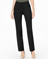 JM Collection Regular and Short Length Curvy-Fit Slim-Leg Pants, Created for Macy's